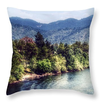 Oregon Views Throw Pillow by Melanie Lankford Photography