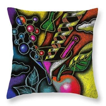 Biochemistry Throw Pillows