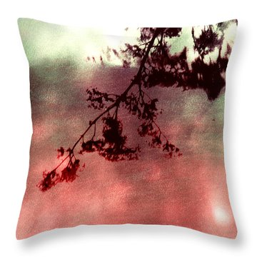 Organic Impressions Throw Pillow
