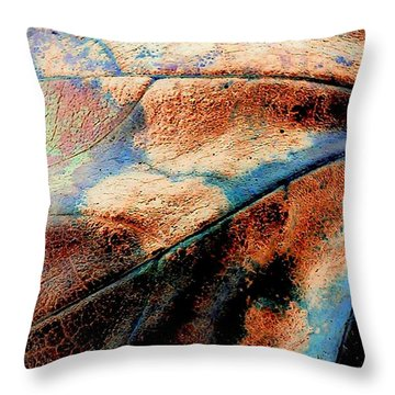 Organic Throw Pillow by Jacqueline McReynolds