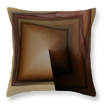 Organic Square Throw Pillow