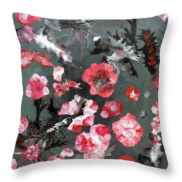 Oriem Throw Pillow by Sumit Mehndiratta