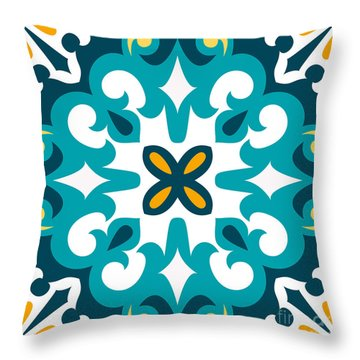 Tile Floor Throw Pillows