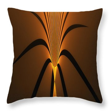 Oriental Vase Throw Pillow