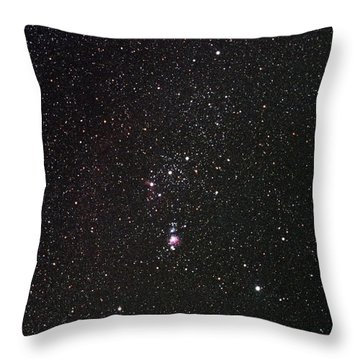 Orion Throw Pillow by Alan Ley