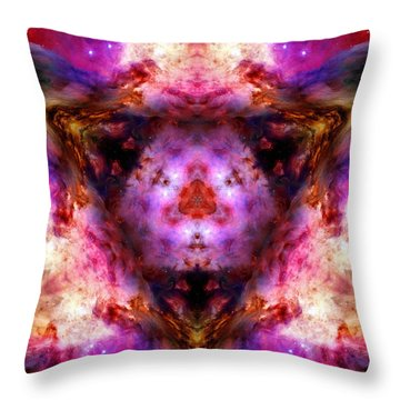Orion Nebula Vi Throw Pillow
