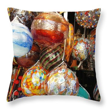 Throw Pillow featuring the photograph Ornate by Natalie Ortiz