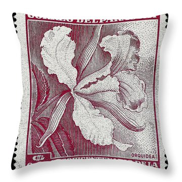 Orquidea Throw Pillow