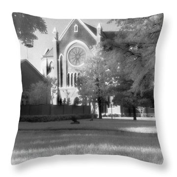 Cathedral Shrine Of The Virgin Of Guadalupe Throw Pillow