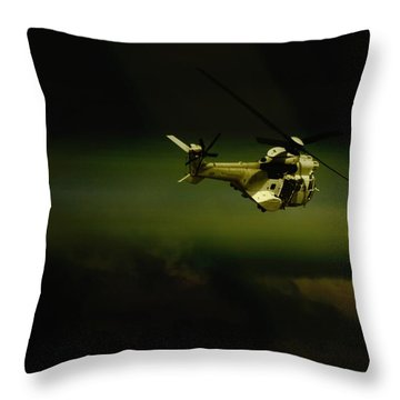 Throw Pillow featuring the photograph Oryx by Paul Job
