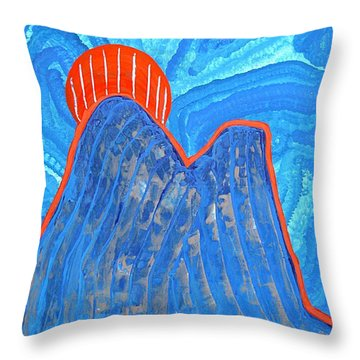 Os Dois Irmaos Original Painting Sold Throw Pillow