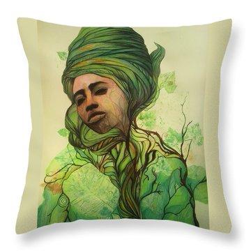 Osanyin Throw Pillow
