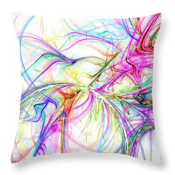 Oscillation Throw Pillow