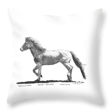 Oshunnah Stepping Out For Freedom Throw Pillow