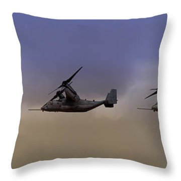 Osprey Transformation Throw Pillow