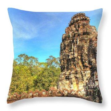 Ost Ost Osten Throw Pillow by Yury Bashkin