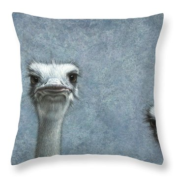 Emu Throw Pillows