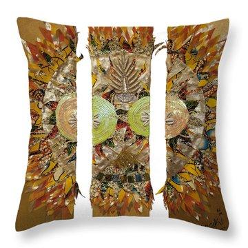 Osun Sun Throw Pillow