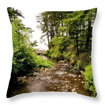 Oswald West 1 Throw Pillow