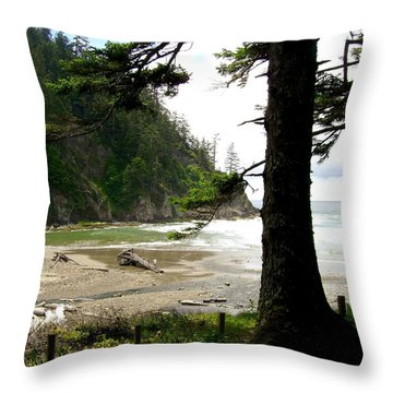 Oswald West 2 Throw Pillow