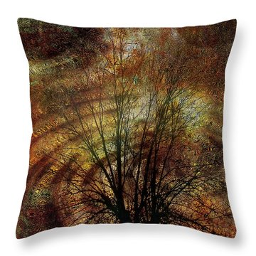 Otherworld Throw Pillow by Mimulux patricia no No