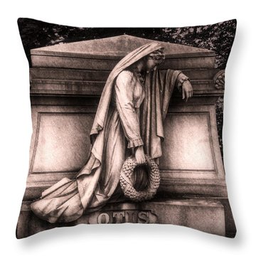 Otis Monument Throw Pillow