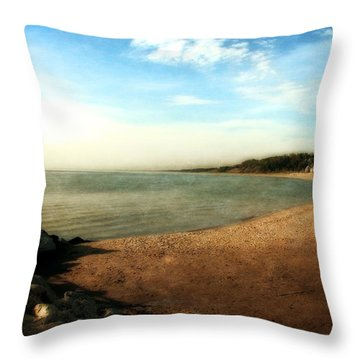 Ottawa Beach State Park Throw Pillow