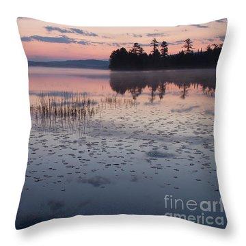 Otter Bay Sunrise Throw Pillow
