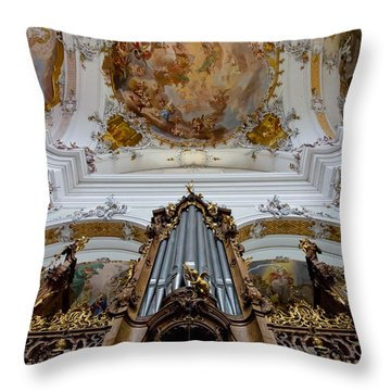 Ottobeuren Ornaments Throw Pillow
