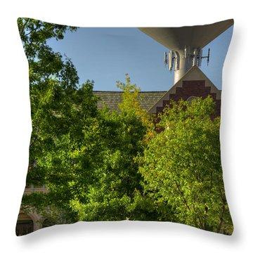 Ou Campus Throw Pillow