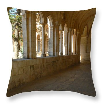 Our Father Of The World Throw Pillow