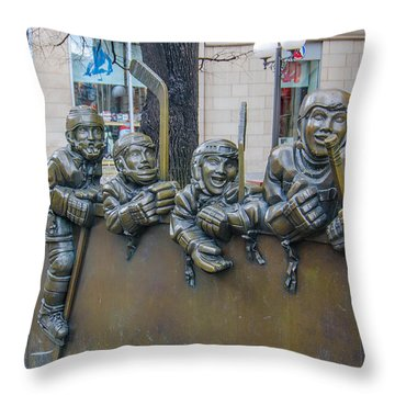 Our Game Throw Pillow
