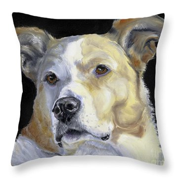 Our Hero Throw Pillow