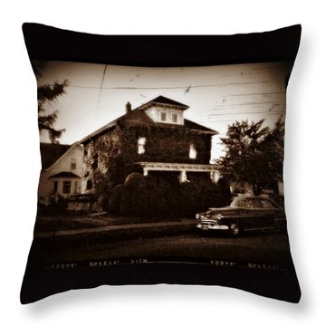 Our House - Private Password Protected Throw Pillow