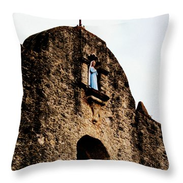 Our Lady Of Loreto Throw Pillow by Avis  Noelle