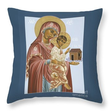 Our Lady Of Loretto 033 Throw Pillow