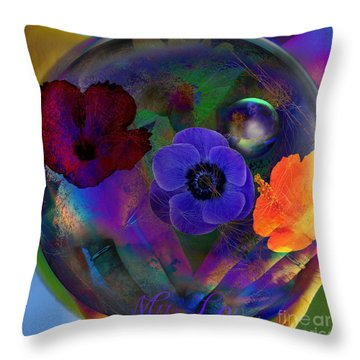 Our Nature Of Love Throw Pillow
