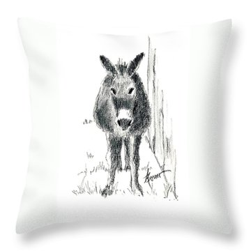 Our New Friend Throw Pillow