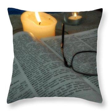 Our Shabbat Throw Pillow