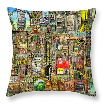 Our Town Throw Pillow