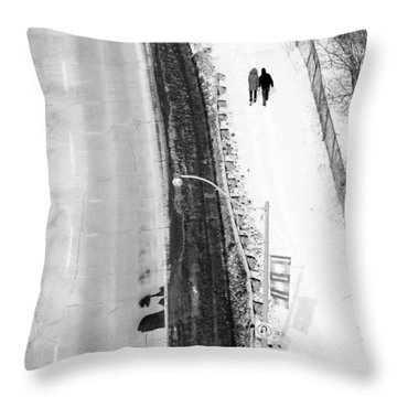 Our Way Throw Pillow by Valentino Visentini