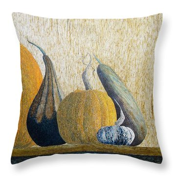 Throw Pillow featuring the painting Out Cast by A  Robert Malcom