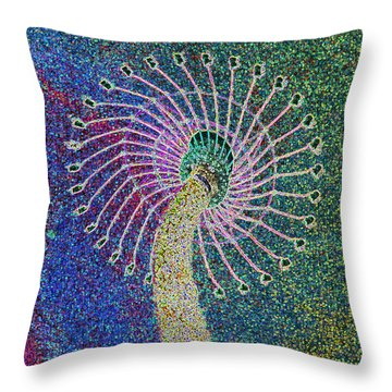 Out Of Control Throw Pillow by Aimee L Maher Photography and Art Visit ALMGallerydotcom