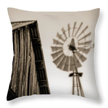 Throw Pillow featuring the photograph Out Of Focus by Amber Kresge