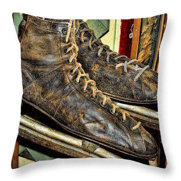 Out Of Ice Throw Pillow by Fran Riley