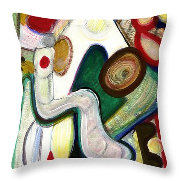 Out Of My Being Throw Pillow