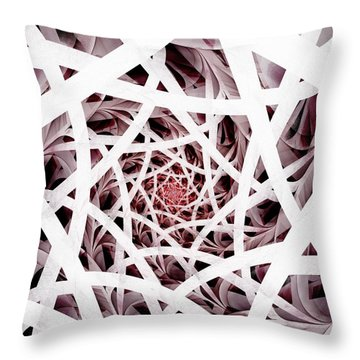 Out Of Reach Throw Pillow by Anastasiya Malakhova