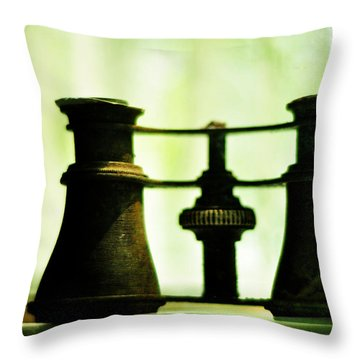 Out Of Sight Throw Pillow by Rebecca Sherman