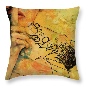 Out Of The Box Throw Pillow by Corporate Art Task Force