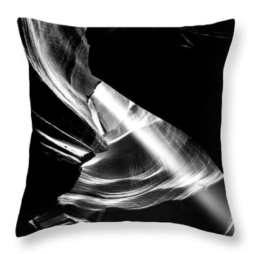 Out Of The Hole Throw Pillow